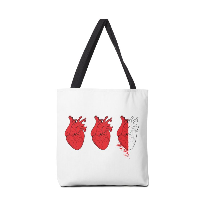 Heart Attacks Accessories Bag by The Salty Studios @ Threadless