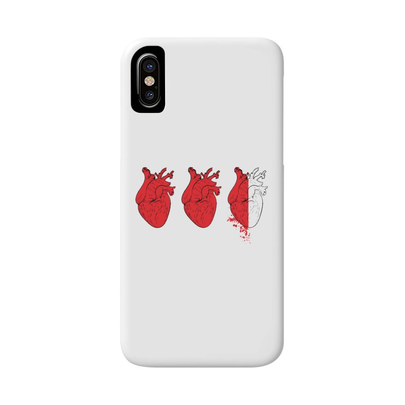Heart Attacks Accessories Phone Case by The Salty Studios @ Threadless