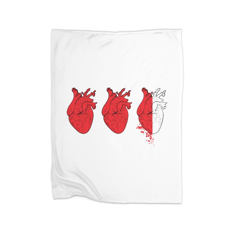Heart Attacks Home Blanket by The Salty Studios @ Threadless