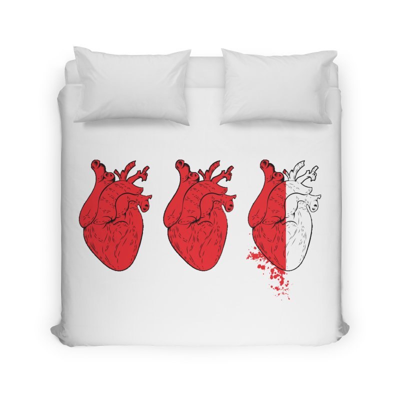 Heart Attacks Home Duvet by The Salty Studios @ Threadless