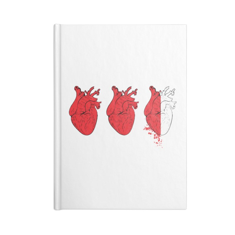 Heart Attacks Accessories Notebook by The Salty Studios @ Threadless