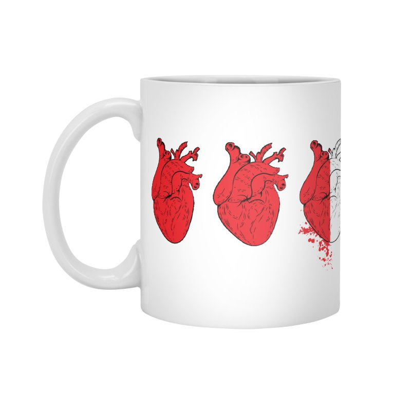Heart Attacks Accessories Mug by The Salty Studios @ Threadless