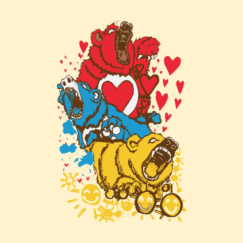 Scare Bears by The Salty Studios @ Threadless