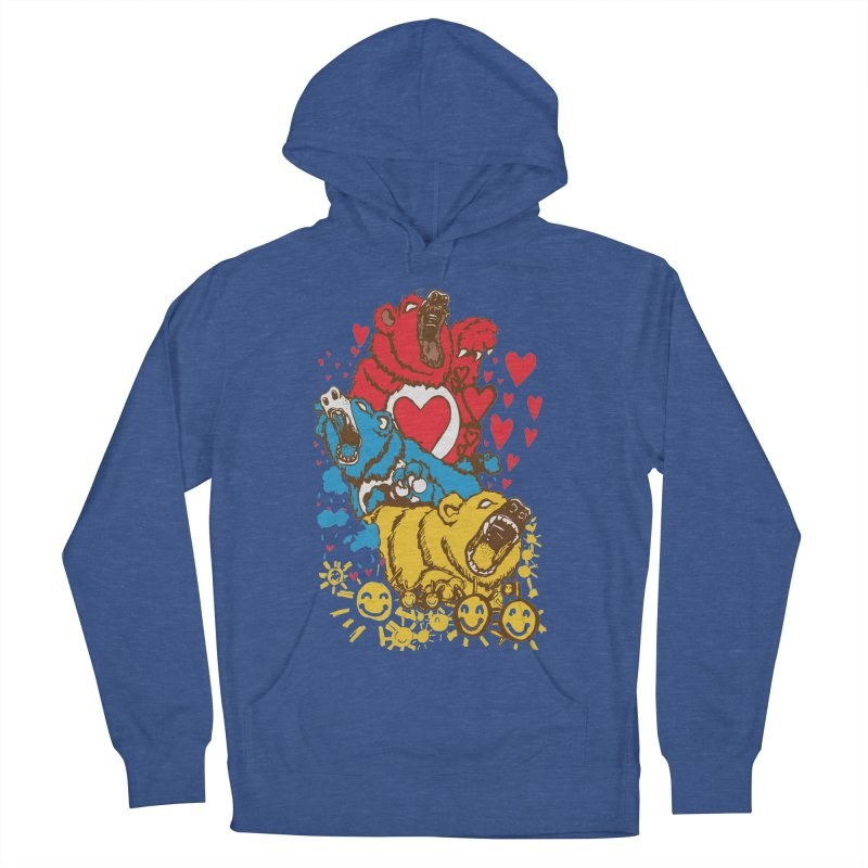 Scare Bears Men's Pullover Hoody by The Salty Studios @ Threadless