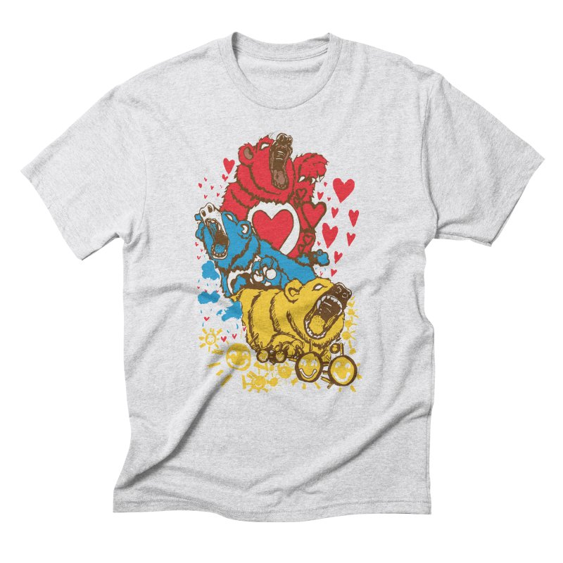 Scare Bears Men's Triblend T-shirt by The Salty Studios @ Threadless