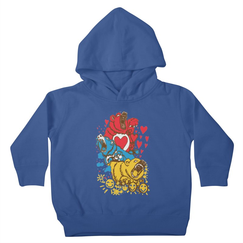 Scare Bears Kids Toddler Pullover Hoody by The Salty Studios @ Threadless