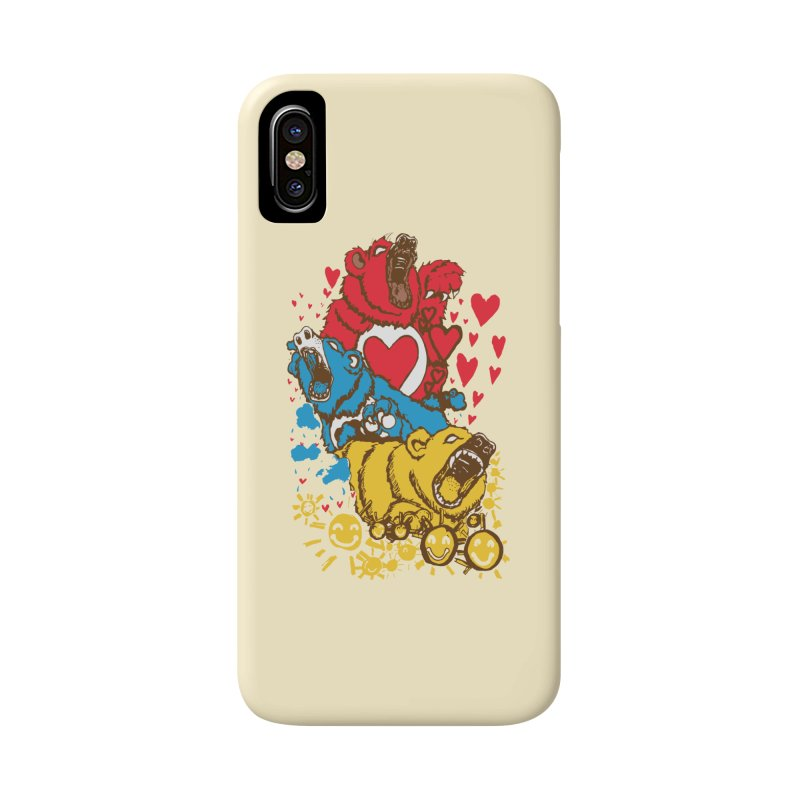Scare Bears Accessories Phone Case by The Salty Studios @ Threadless