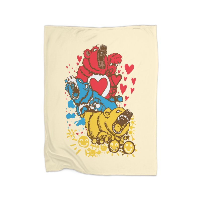 Scare Bears Home Blanket by The Salty Studios @ Threadless