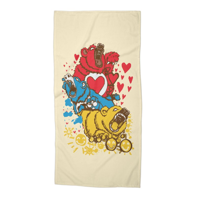 Scare Bears Accessories Beach Towel by The Salty Studios @ Threadless