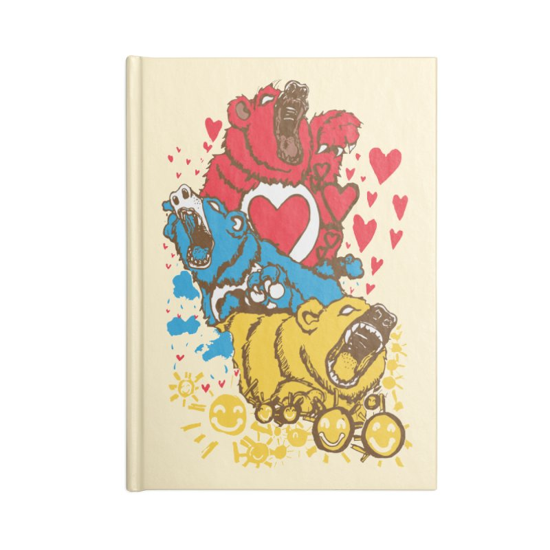 Scare Bears Accessories Notebook by The Salty Studios @ Threadless
