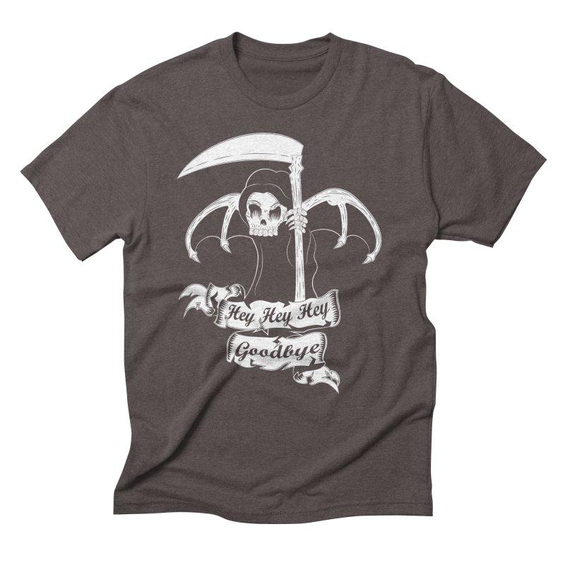 Kiss Em Goodbye Men's Triblend T-shirt by The Salty Studios @ Threadless