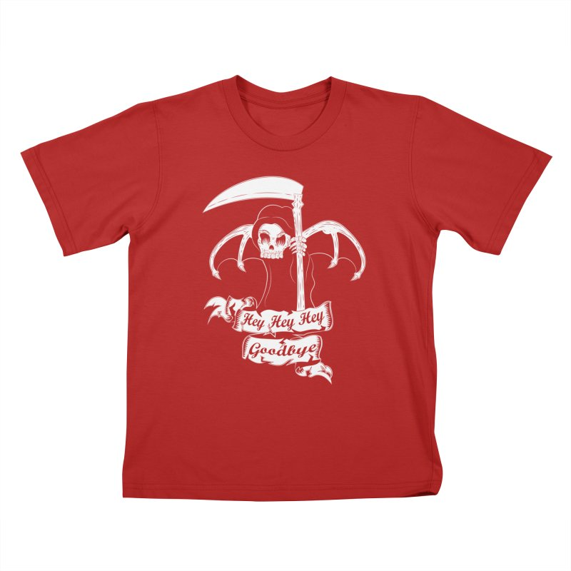 Kiss Em Goodbye Kids T-shirt by The Salty Studios @ Threadless