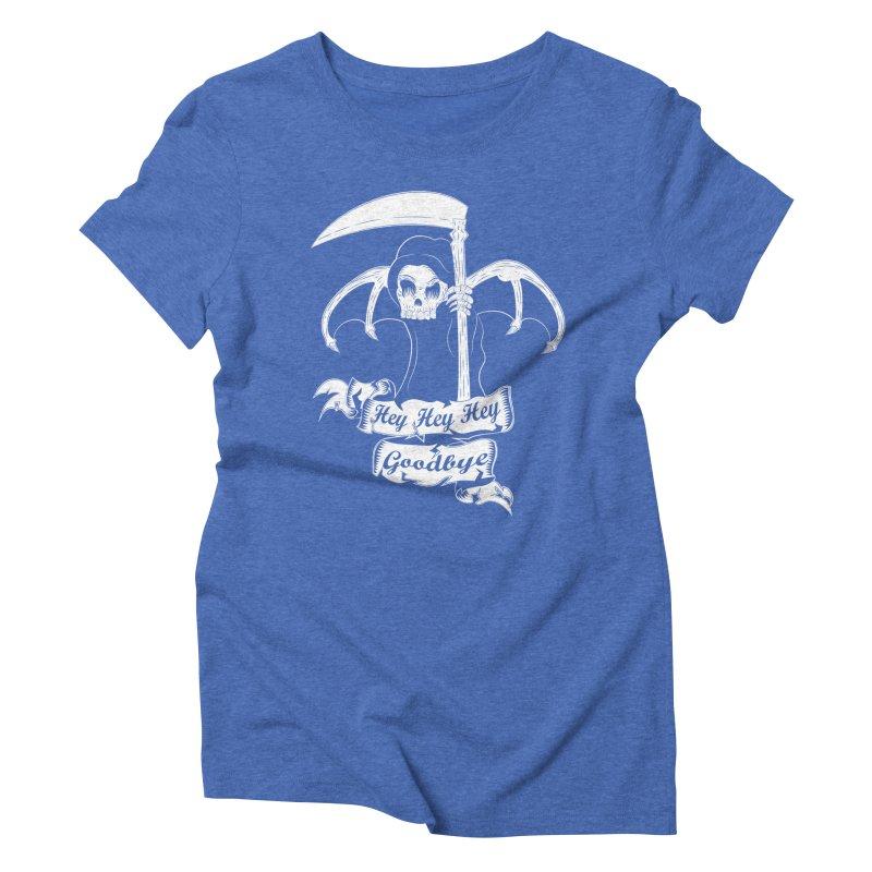 Kiss Em Goodbye Women's Triblend T-shirt by The Salty Studios @ Threadless
