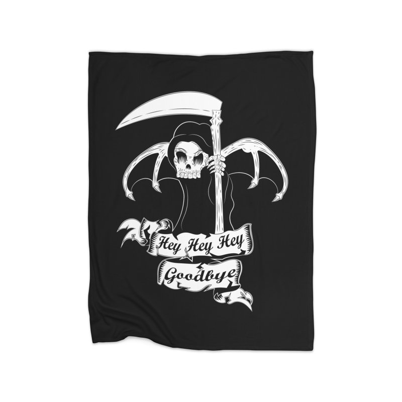 Kiss Em Goodbye Home Blanket by The Salty Studios @ Threadless