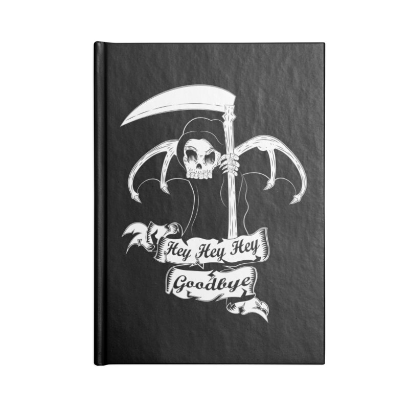 Kiss Em Goodbye Accessories Notebook by The Salty Studios @ Threadless