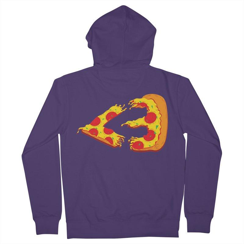 PizzaMoji Women's Zip-Up Hoody by The Salty Studios @ Threadless