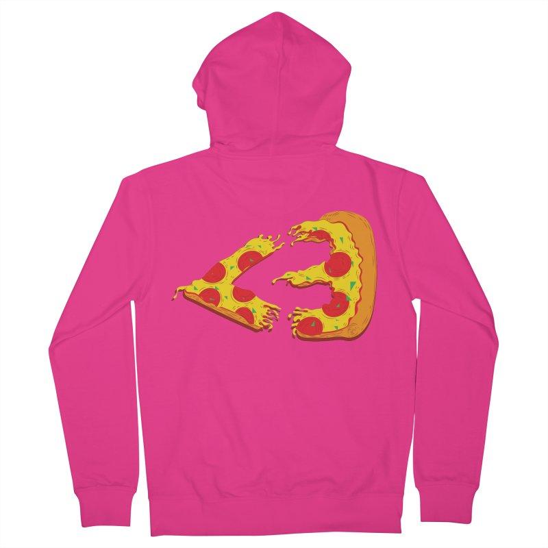 PizzaMoji Men's Zip-Up Hoody by The Salty Studios @ Threadless
