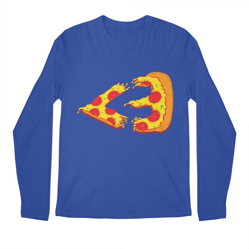PizzaMoji Men's Longsleeve T-Shirt by The Salty Studios @ Threadless