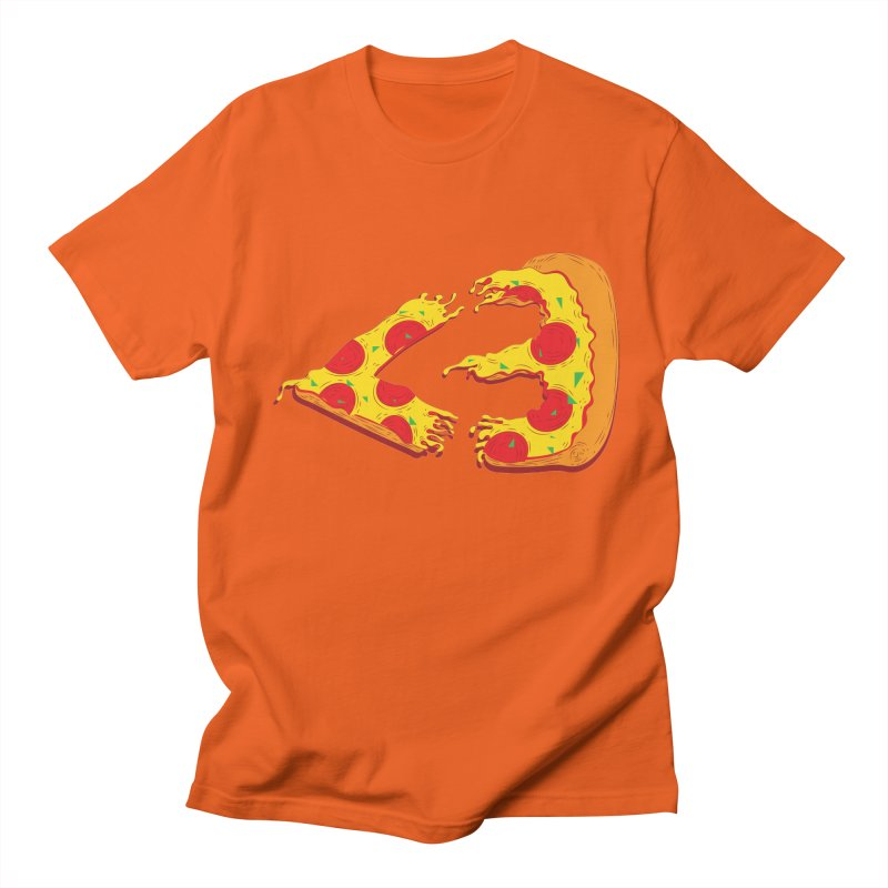 PizzaMoji Men's T-shirt by The Salty Studios @ Threadless