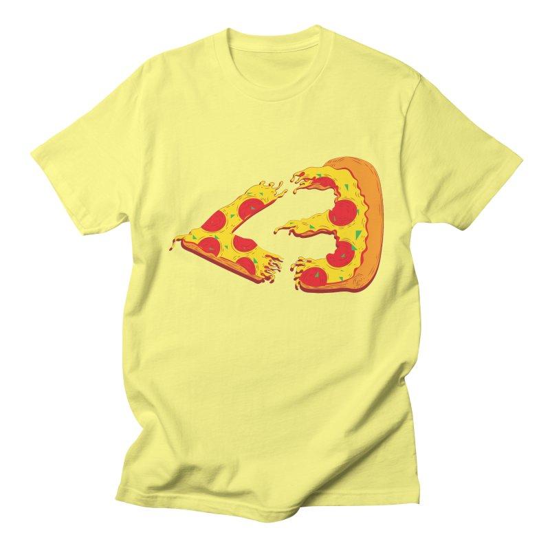 PizzaMoji Women's Unisex T-Shirt by The Salty Studios @ Threadless