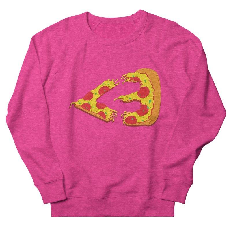 PizzaMoji Women's Sweatshirt by The Salty Studios @ Threadless