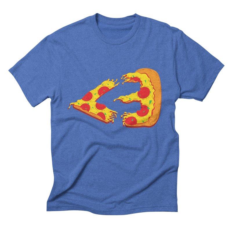 PizzaMoji Men's Triblend T-shirt by The Salty Studios @ Threadless