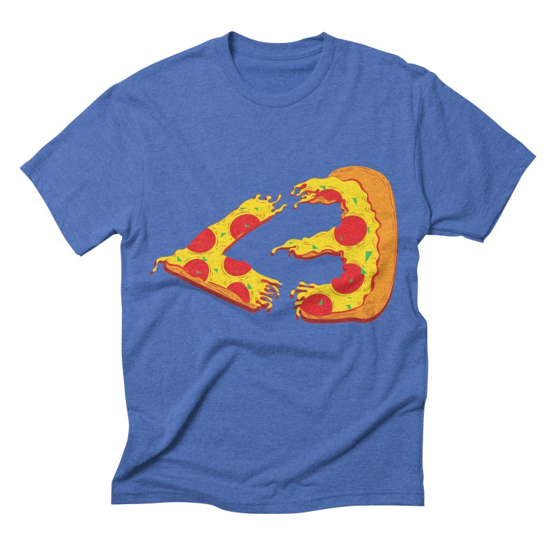 PizzaMoji Men's Triblend T-shirt by The Salty Studios @ Threadless