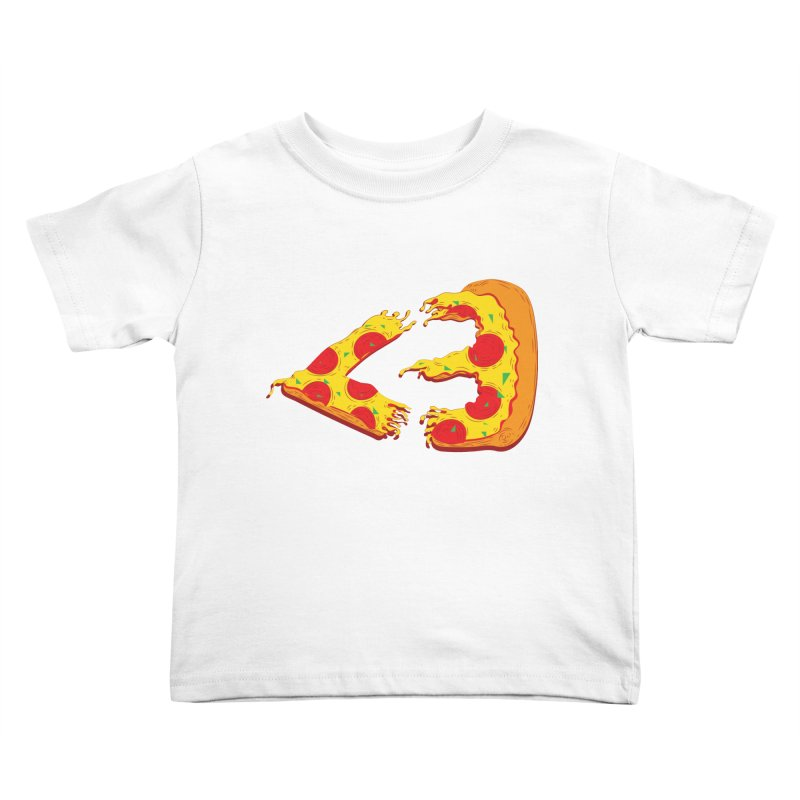 PizzaMoji Kids Toddler T-Shirt by The Salty Studios @ Threadless