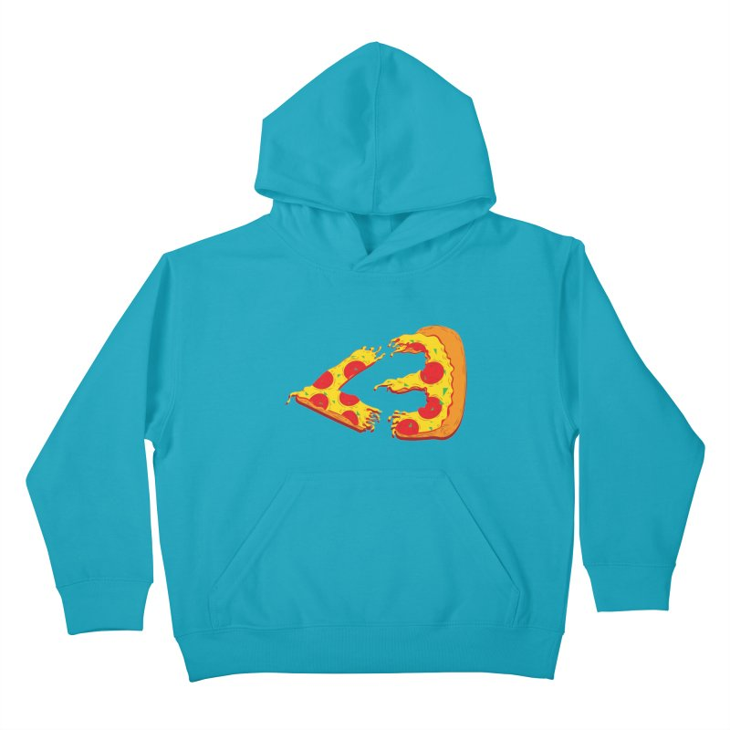 PizzaMoji Kids Pullover Hoody by The Salty Studios @ Threadless