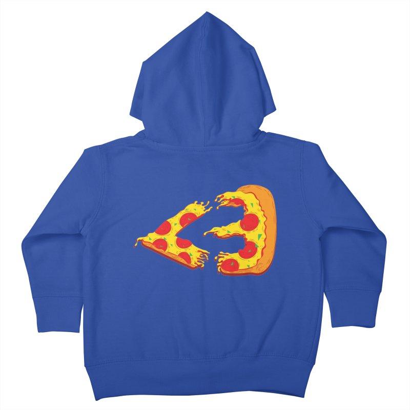 PizzaMoji Kids Toddler Zip-Up Hoody by The Salty Studios @ Threadless