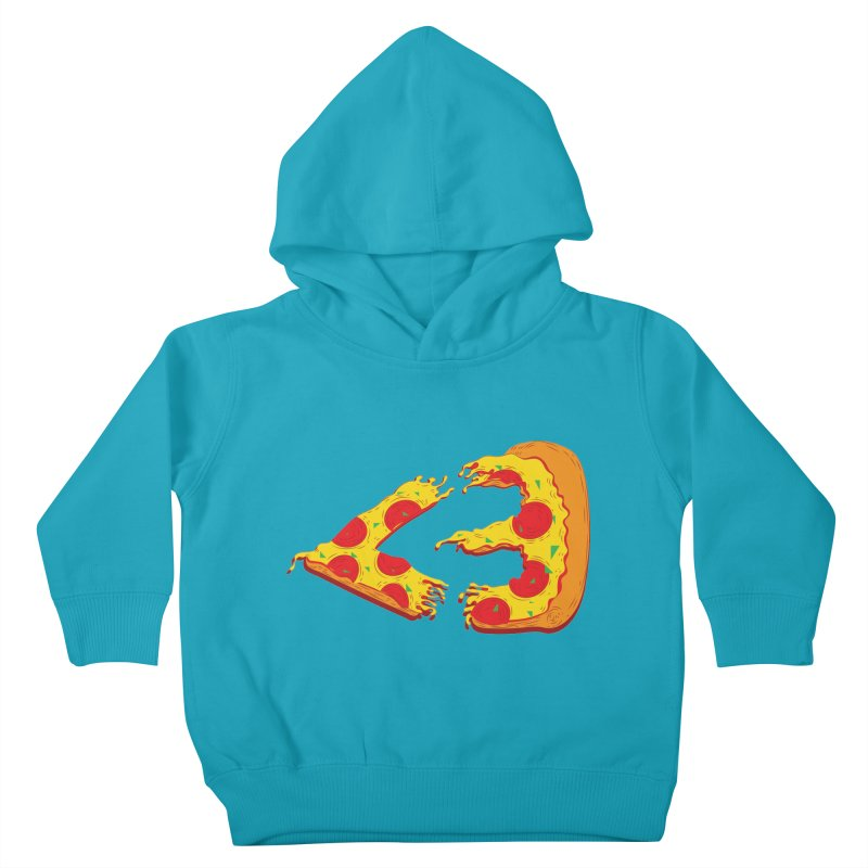 PizzaMoji Kids Toddler Pullover Hoody by The Salty Studios @ Threadless