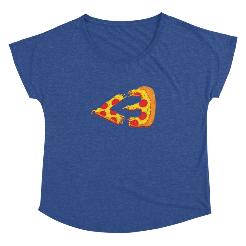 PizzaMoji Women's Dolman by The Salty Studios @ Threadless