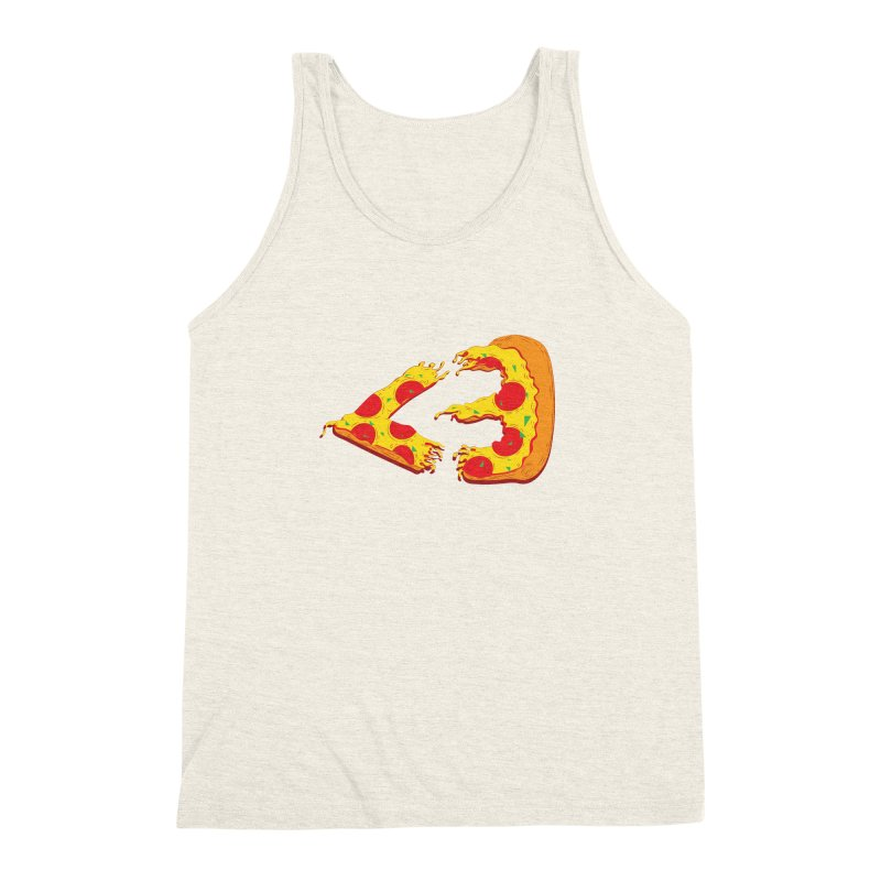 PizzaMoji Men's Triblend Tank by The Salty Studios @ Threadless