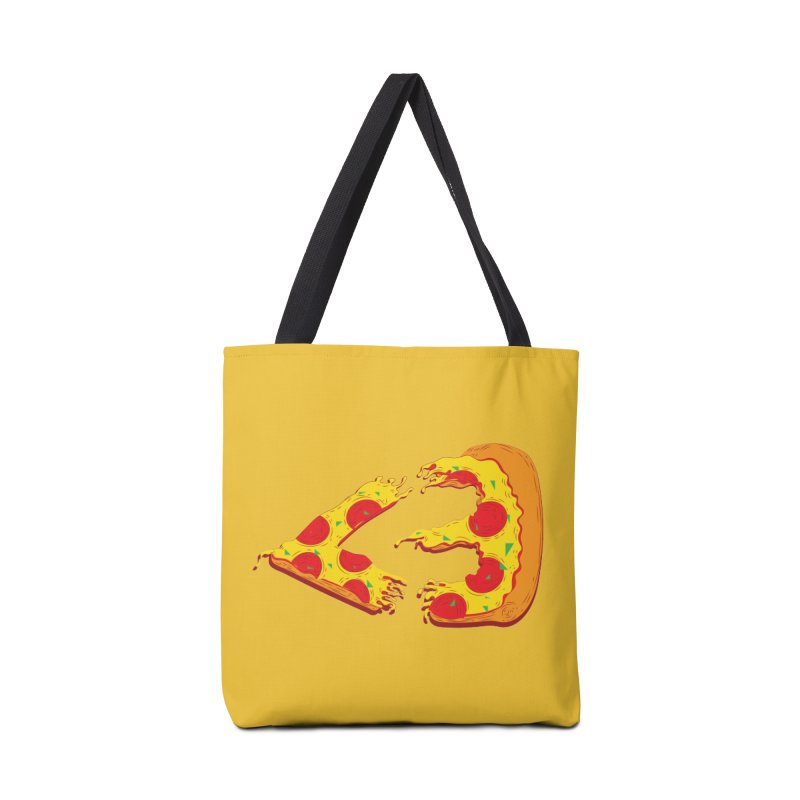 PizzaMoji Accessories Bag by The Salty Studios @ Threadless