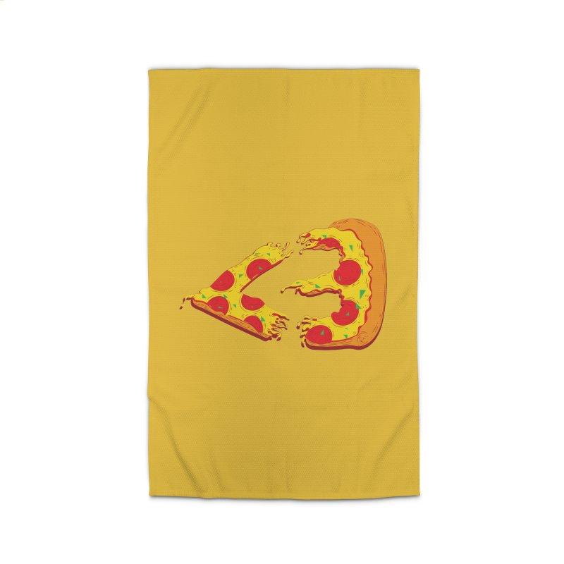 PizzaMoji Home Rug by The Salty Studios @ Threadless