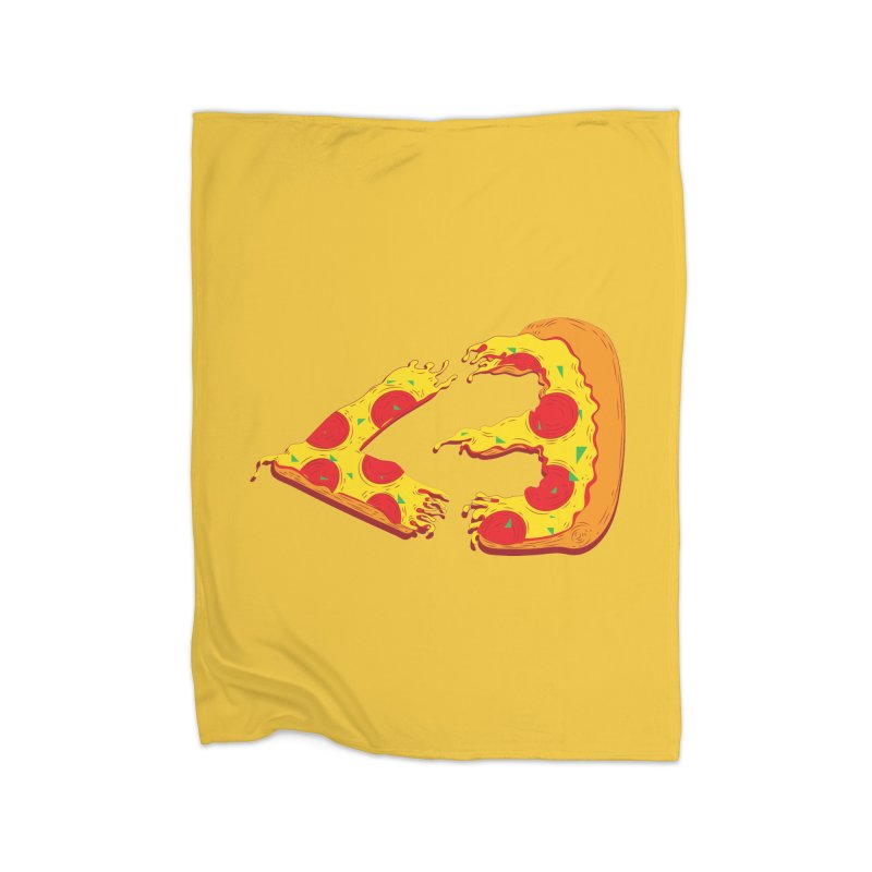 PizzaMoji Home Blanket by The Salty Studios @ Threadless