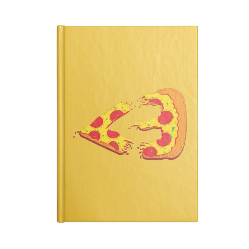 PizzaMoji Accessories Notebook by The Salty Studios @ Threadless