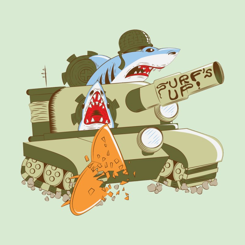 Shark Tank by The Salty Studios @ Threadless