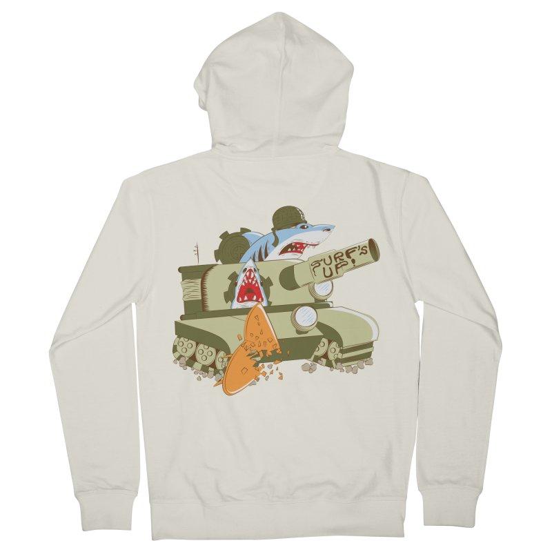 Shark Tank Men's Zip-Up Hoody by The Salty Studios @ Threadless