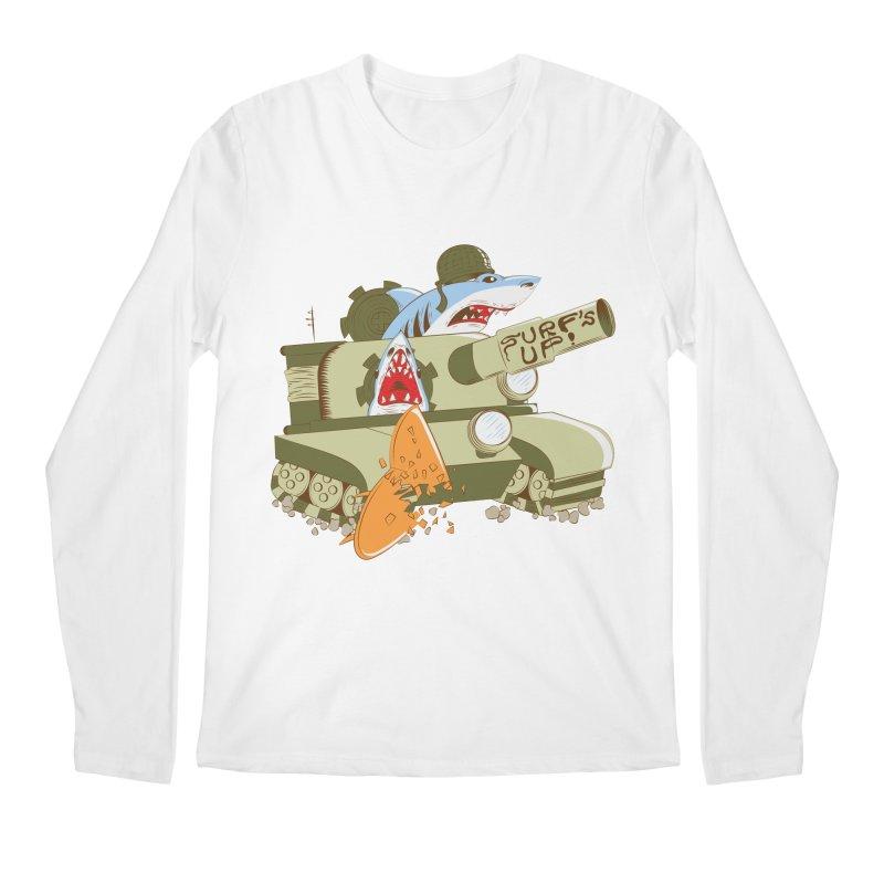 Shark Tank Men's Longsleeve T-Shirt by The Salty Studios @ Threadless