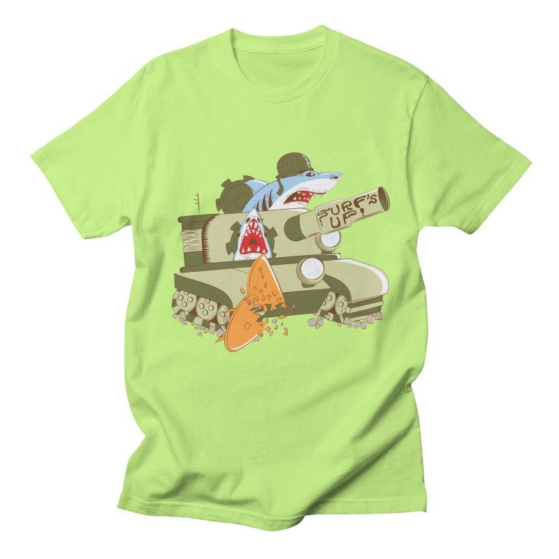 Shark Tank Men's T-shirt by The Salty Studios @ Threadless