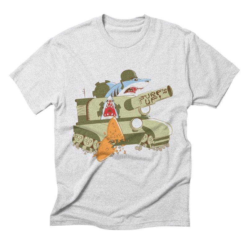Shark Tank Men's Triblend T-shirt by The Salty Studios @ Threadless