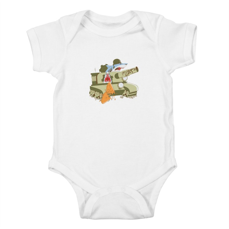 Shark Tank Kids Baby Bodysuit by The Salty Studios @ Threadless