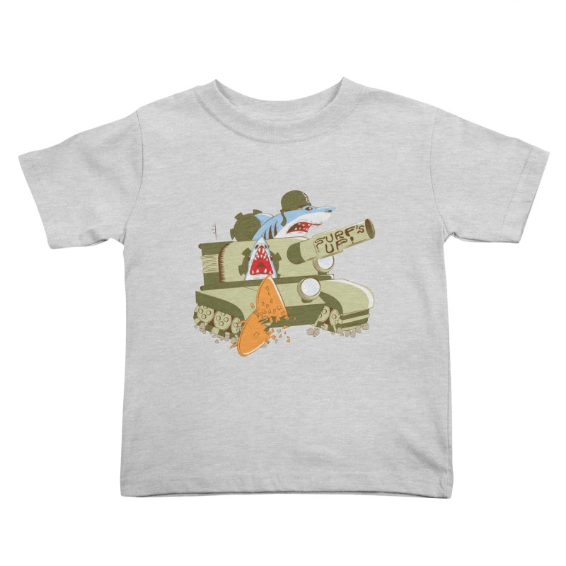 Shark Tank Kids Toddler T-Shirt by The Salty Studios @ Threadless