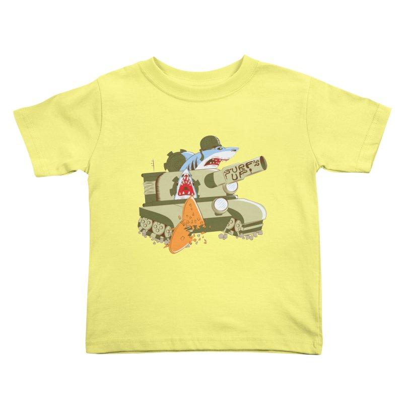Shark Tank Kids Toddler T-Shirt by The Salty Studios @ Threadless