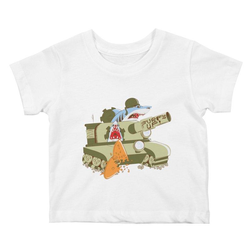 Shark Tank Kids Baby T-Shirt by The Salty Studios @ Threadless
