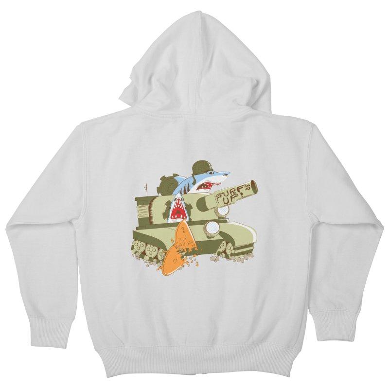 Shark Tank Kids Zip-Up Hoody by The Salty Studios @ Threadless