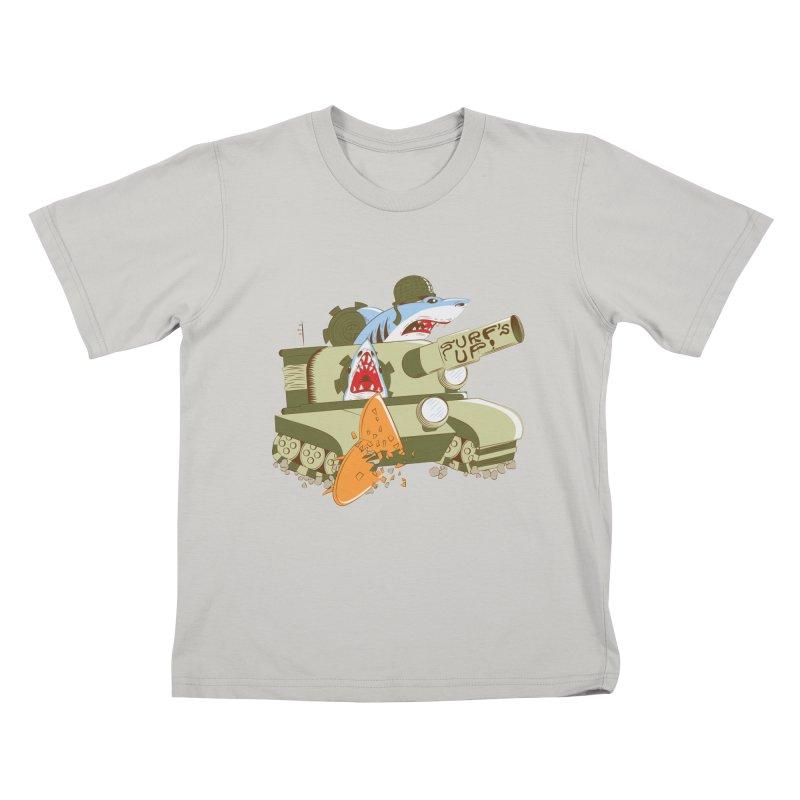 Shark Tank Kids T-shirt by The Salty Studios @ Threadless