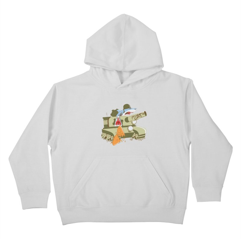Shark Tank Kids Pullover Hoody by The Salty Studios @ Threadless