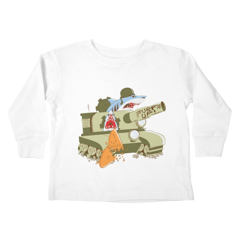 Shark Tank Kids Toddler Longsleeve T-Shirt by The Salty Studios @ Threadless